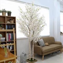 인조나무 조화화분 2대 라일락나무 240cm 화이트핑크_(2315040)