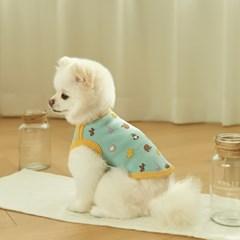 동물 친구들 강아지 실내복 (블루)