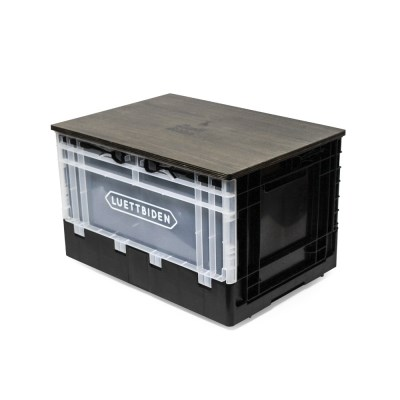 캠핑 폴딩 정리 박스 (시크블랙)