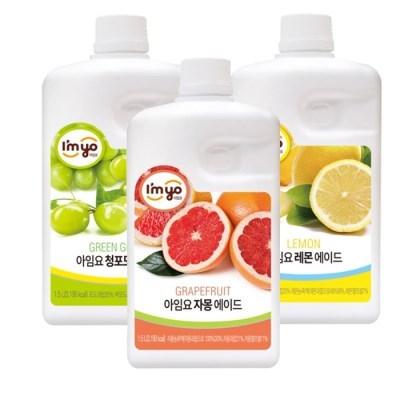 아임요 자몽 청포도 레몬 에이드 1.5L