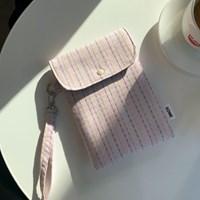 스티치 이북리더기 태블릿 파우치