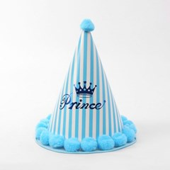 프린스 파티용 꼬깔모자/ 생일파티용 모자
