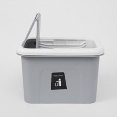 싱크대걸이식 슬라이드 쓰레기통(5L) 음식물 휴지통