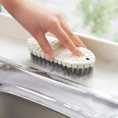 휘어지는 다용도 청소솔/ 주방 욕실 청소브러쉬