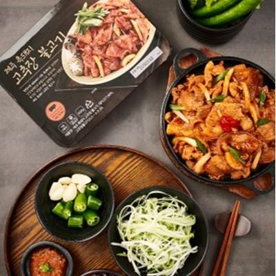 [강강술래] 제주흑돼지 고추장불고기 2팩/곤드레나물밥 4팩/된장찌개