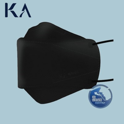 케이에이 프리미엄 방역 마스크 KF94 블랙 대형 1매