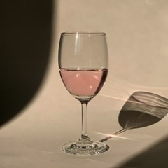 셀리나 로제 보르도 와인잔 235ml 2pcs