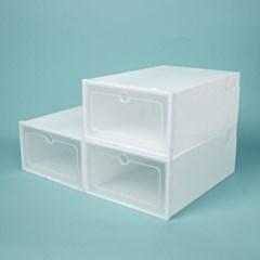 슈박스 신발정리함 3p세트(소) (화이트)/ DIY슈케이스