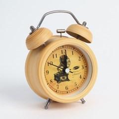 네추럴 앤틱 해머벨 탁상시계(축음기)/ 아날로그시계