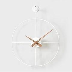 21리뉴얼-와이어벽시계 원형(WH)