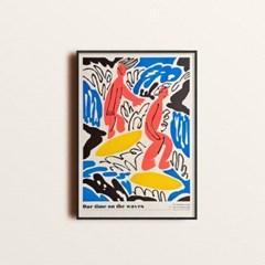 서핑 리소 포스터 (A3)