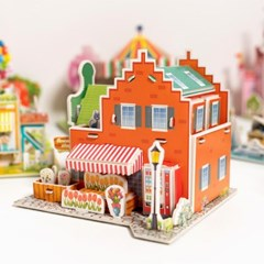 3D 입체퍼즐 종이모형 건축물 만들기 모음