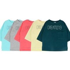 [마미버드] 로고 포켓 티셔츠 (5color)_(287951)