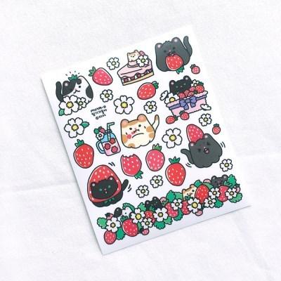 [비칼선] 미야오 딸기 스티커