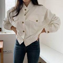 겟잇미 모센 여성 짧은 숏 야상자켓