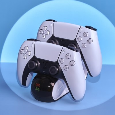 PS5 듀얼센스 거치대 플스5 듀얼차저 스탠드 충전기