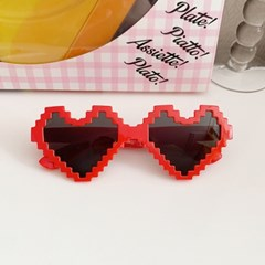 Pixel Heart Glasses 픽셀하트안경