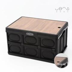 일일일상 접이식 캠핑 폴딩박스+ 컬러 MDF 상판(인타입)