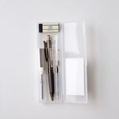 디자인문구 단순생활 반투명 필통 심플세트