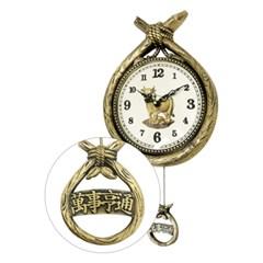 HI-CW01 코뚜레 시계 인테리어 벽걸이 추시계