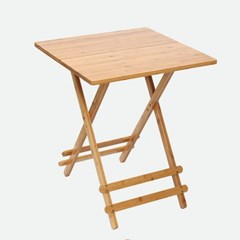 감성우드 간편 접이식 테이블 사각 사이드 보조 간이