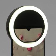 스마트폰 LED 셀카조명(블랙)