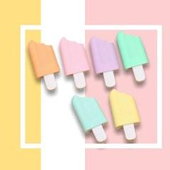 [맙소사잡화점] 팝시클 6색 형광펜 세트