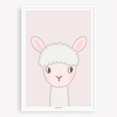 굴리굴리 포스터 BABY LAMB (086)