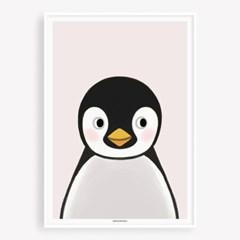 굴리굴리 포스터 BABY PENGUIN (085)