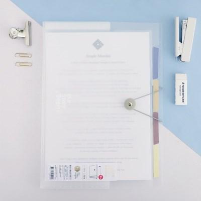 사무실 학교 학원 서류정리 A4 클리어파일 5포켓 CF10_(1307174)