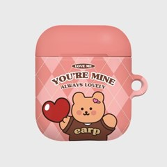 You are mine covy-pink(Hard air pods)_(1757419)