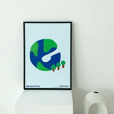 [KEEERI x BFMA] EVERYTHING 포스터 A4-EARTH