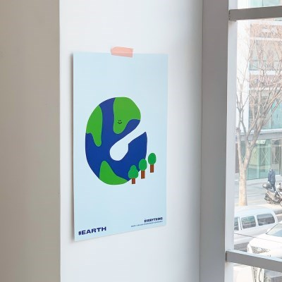 [KEEERI x BFMA] EVERYTHING 포스터 A3-EARTH