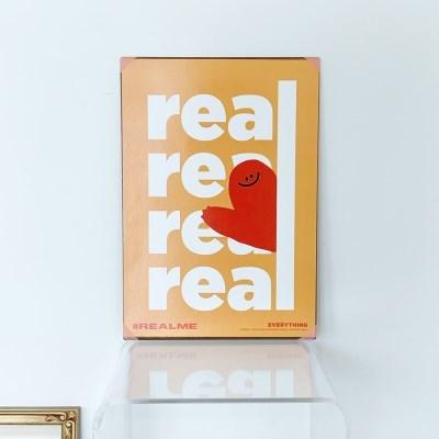 [KEEERI x BFMA] EVERYTHING 포스터 A4-REALME
