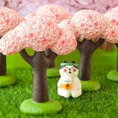 데꼴 2021 벚꽃 피규어 벚꽃나무
