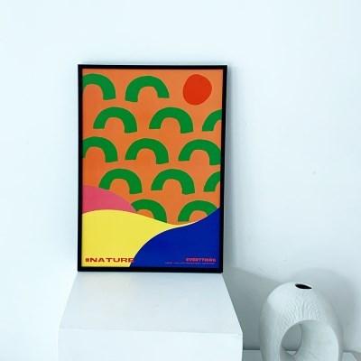 [KEEERI x BFMA] EVERYTHING 포스터 A4-NATURE