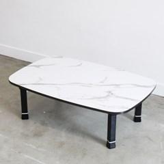 라운드 높이조절 테이블 90x60cm