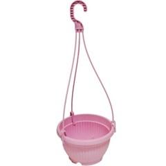 [현앤홈] 원분재 화분&화분걸이 핑크. 그린. 옐로우-3p