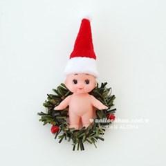 Tiny Santa Hat 아주작은산타모자(2개)