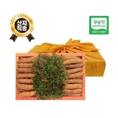 (농부와아내) 무농약 3년근 황토 더덕선물세트  1.8kg 4호 (30~39개)