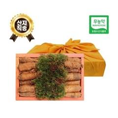 (농부와아내) 무농약 3년근 황토 더덕선물세트 1.8kg 2호 (13~19개)