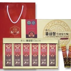 6년근 드리오 홍삼정 15mlx60포 스틱형 쇼핑백 선물세트 포장