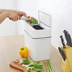 싱크대 음식물 쓰레기통 9.5L 밀폐형 휴지통