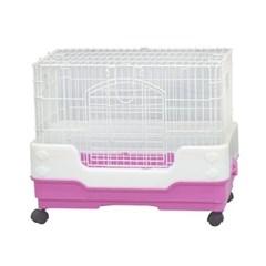 스몰펫용품 아마존 소동물 케이지 R 65 핑크