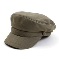 Linen Khaki Line Marine Cap 린넨마린캡