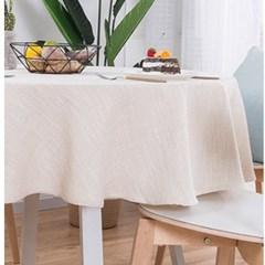 원형 식탁보 테이블보
