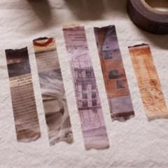 아이엔쓰담 빈티지 콜라주 마스킹테이프 vintage masking tape
