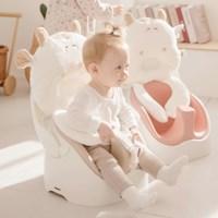 젤리맘 와이즈체어 카우세트 (아기 점보의자+카트+가방+짱구베개)
