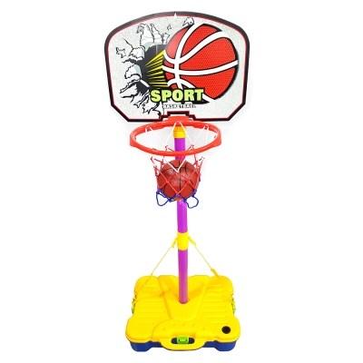 농구대 세트 이동식 높이조절 유아 어린이 농구골대