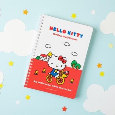 [Sanrio] 헬로키티 스터디 플래너+수첩 세트